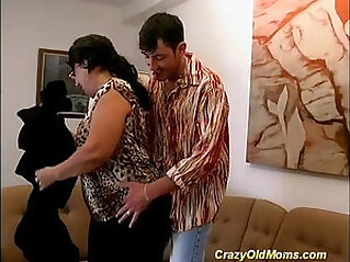 Big tits moma gets fucked deep and hard
